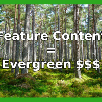 Online Feature Content Builds Evergreen Audiences