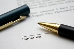 Online sales contract