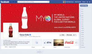 Coca Cola on Facebook