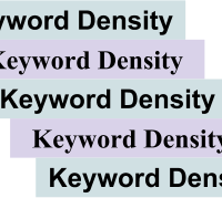 How Keyword Density Impacts Search Engine Optimization