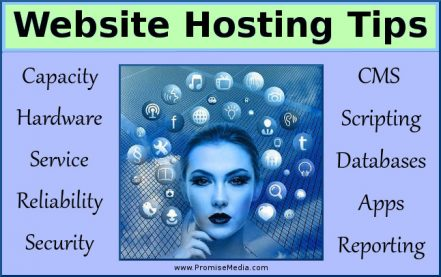 Website hosting tips