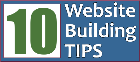Website building tips