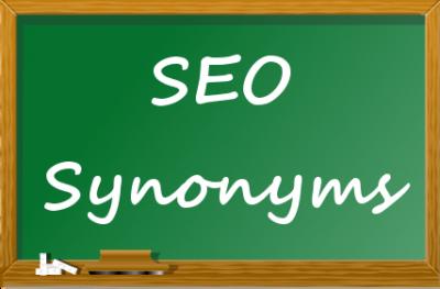 SEO synonyms