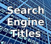 Title Changes Alone May Improve Search Rankings
