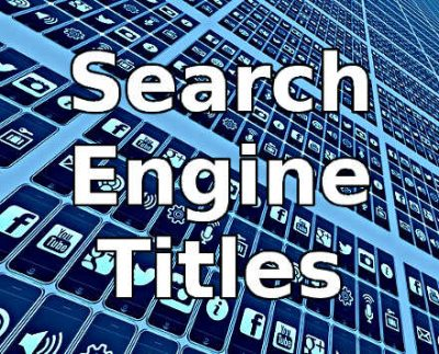 Search engine titles