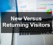 New versus returning visitors
